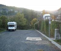 Area di sosta a Montemignaio