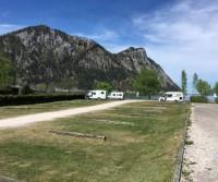 Wohnmobil- und Wohnwagenstellplatz