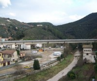Area di sosta a Spoleto