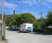 Area di sosta a Marina di Camerota,SA