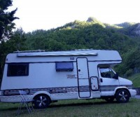 Area camper Diga di Ridracoli