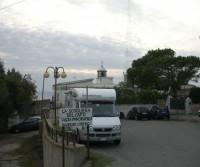 Area di sosta a Capo Vaticano,VV