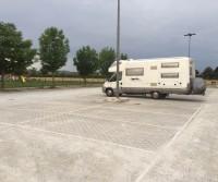 Parcheggio centro sportivo
