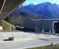 Area sosta di Bellinzona