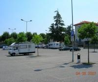 Area di sosta a Saluzzo
