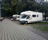 Wohnmobilstellplatz am Freibad
