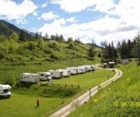 Area camper Lago del Laux
