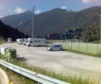 Parcheggio campo calcio