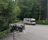 Parcheggio camper Lago di Tovel