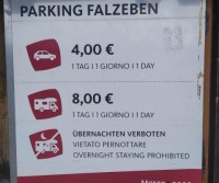 Parkplatz Falzeben