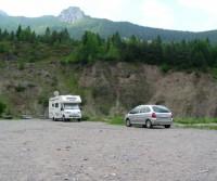 Parcheggio Diga del Vajont