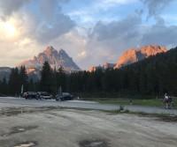 Parcheggio lago d'Antorno