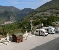 Area di sosta a Vallo di Nera