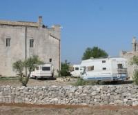 Area di sosta a Matera