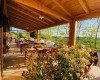 Agriturismo Il Sambuco  Il nostro ristorante con spazio all'aperto