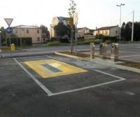 Area di sosta a Montebelluna