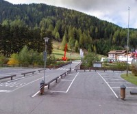 Area di sosta a Selva di Val Gardena