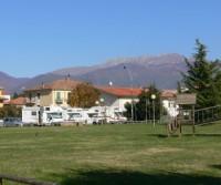 Area di sosta a Rieti