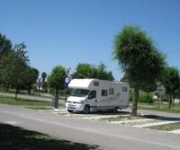 Parking camper