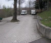 Area di sosta a Castiglione d'Orcia