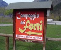 Campeggio dei Forti