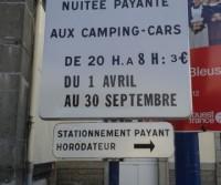 Area di sosta a Concarneau