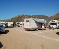 Camper Service Dumping Station