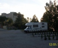 Area di sosta a Caccamo