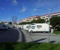 Area di sosta a Viareggio