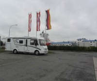 Reisemobil-Parkplatz Fischkai