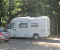 Parcheggio dell'Oravsky Hrad