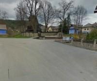 Parcheggio della chiesa di Hervartov