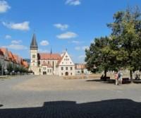 Parcheggio per il centro storico di Bardejov