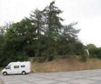 Parcheggio del Novy Zamoc (Castello nuovo)