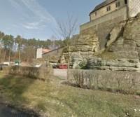 Parcheggio del Hrad Kost (castello)