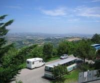 Area di sosta a Civitella del Tronto