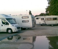 Rimini Parking Camper Settebello