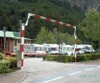 Area sosta camper Molveno
