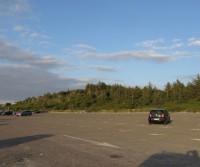 Parcheggio della spiaggia di Tisvildeleje