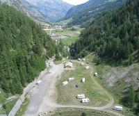 Area di sosta a Valgrisenche