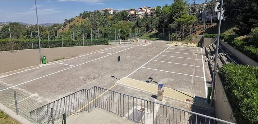 """L'area camper """"la fisarmonicaâ€� di Castelfidardo è pronta"""