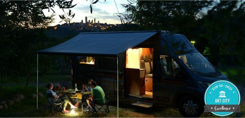 Il Camping Siena Colleverde a Siena è il vincitore del premio Art City 2021