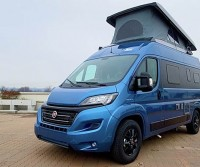 Camper in Pillole: Hymer Free 540 Blue Evolution