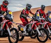 Laika con Honda per la Dakar 2019