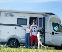 Michela Andreozzi e Max Vado con l'Ecovip 309 S