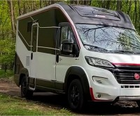 Il Challenger X150 in mostra