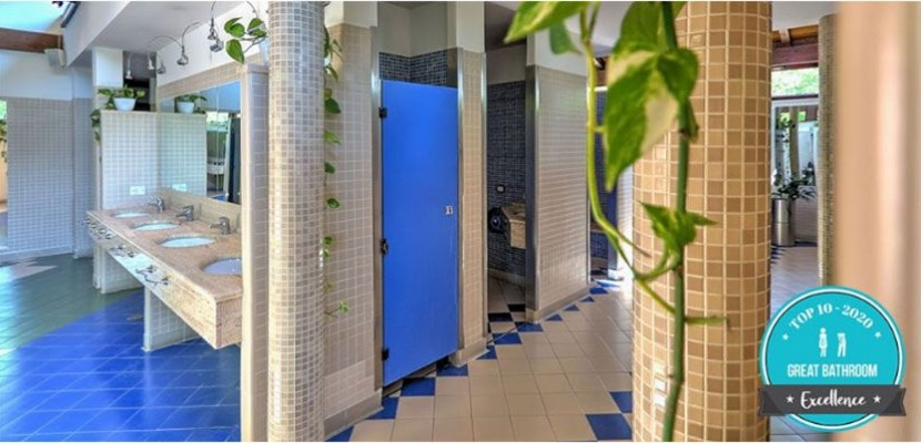 I 10 Campeggi e Villaggi italiani con i migliori servizi igienici