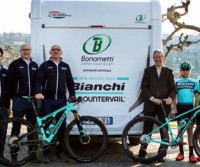 Bonometti e il Team Bianchi Countervail
