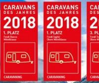 """Fendt conquista 3 nuovi primati nel sondaggio """"Caravan dell'Anno 2018� di Motor Presse Stuttgart"""