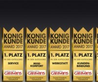 Hobby e Fendt premiate in Germania